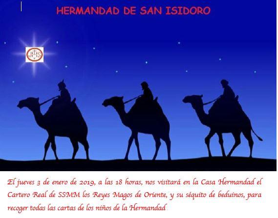 Ver Fotos De Los Reyes Magos De Oriente.Visita Del Cartero Real De Ssmm Los Reyes Magos De Oriente